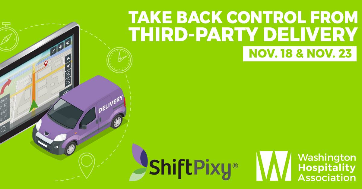 Take back control from third party delivery, Nov. 18 and 23