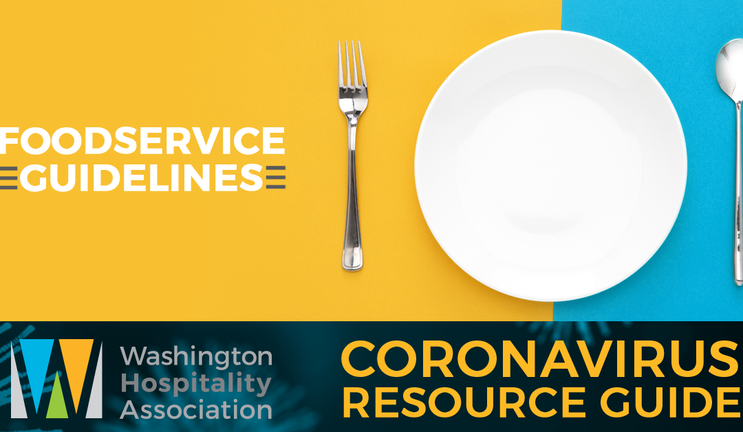 Foodservice guidelines for all phases