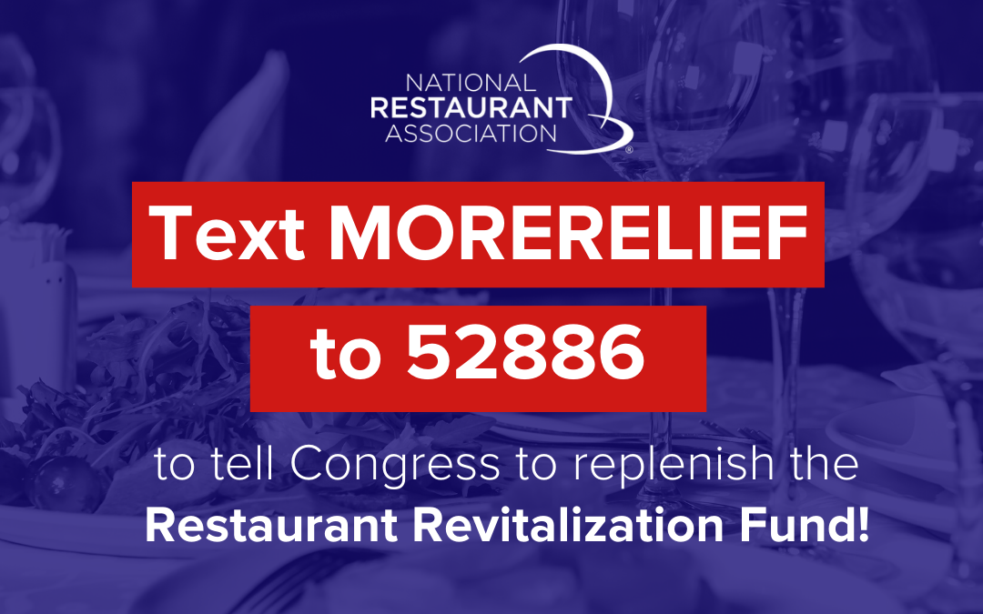 More money is needed in the Restaurant Revitalization Fund