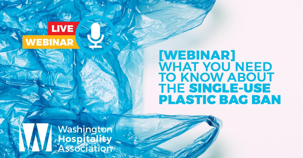Plastic bag ban webinar graphic